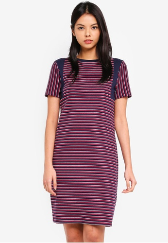 ESPRIT navy Knitted Mini Dress 8CF45AAC7641D5GS_1