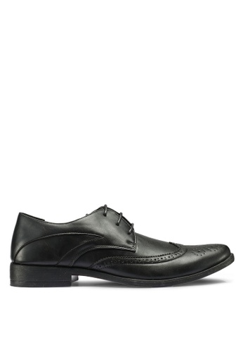 Bata black Business Dress Shoes 7C97CSH60045BAGS_1