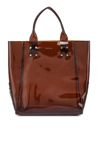 Milliot & Co. brown Jenny Tote Bag 626C4AC352633DGS_1