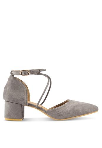 Ruth Pointed Toe Block Heels