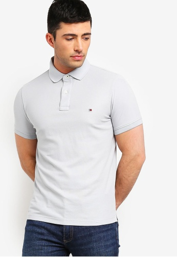 34e0a130 Buy Tommy Hilfiger HILFIGER SLIM POLO Online on ZALORA Singapore