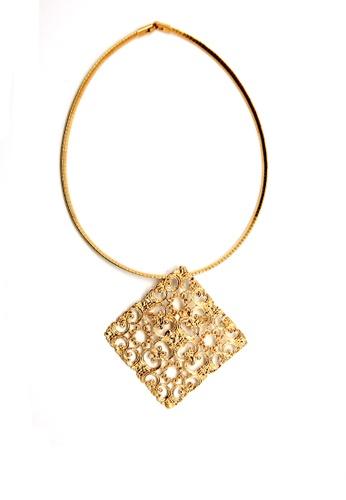 Paulini gold Choker Ketupat Thick  (AG) PA011AC25XCGMY_1