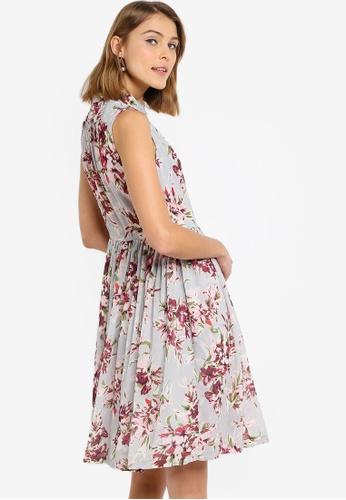 4aa490d0106 Buy French Connection Alerie Drape Sleeveless Shirt Dress Online | ZALORA  Malaysia