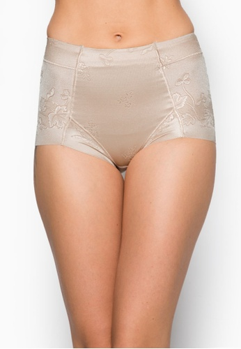 Impression beige Seamless Femme Girdle IM021AA55HEQSG_1