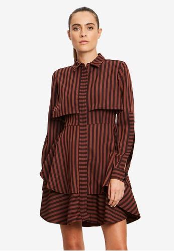 Willa black Duke Layered Dress 2024AAA2DE6F25GS_1