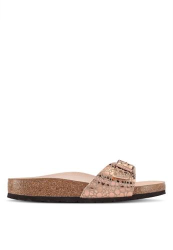 Birkenstock brown Madrid Metallic Stones Sandals 82547SH47DF898GS_1