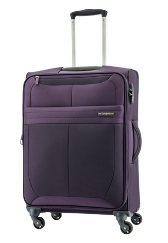 Samsonite purple Samsonite Leroy Spinner 66/24 Exp SA186AC0FAJ7SG_1