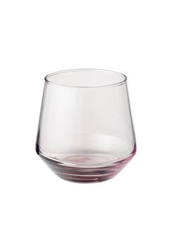 JVD JVD Bathroom Glass Tumbler, Purple 14949HL2AABD84GS_1