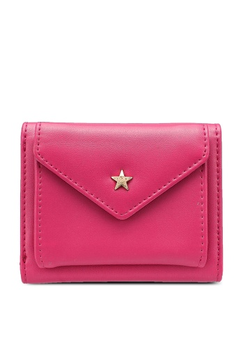 niko and ... pink Trifold Wallet 65687AC8AC45B4GS_1