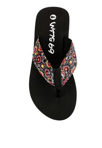 69 SLAM black Sandals-Black 634A1SH45F40ABGS_1