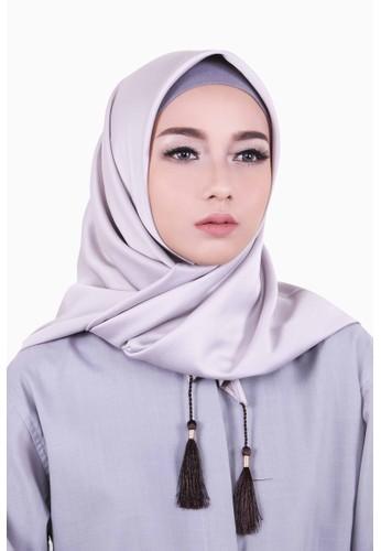 Zelena Aliza Hijab Square - Silver