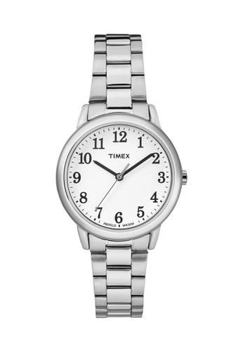 TIMEX silver Timex Easy Reader™ - TW2R23700 TI205AC0RDJ8MY_1