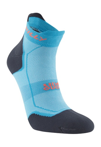 HILLY Hilly Women's Pace Socklet (Peacock/Hot Pink) DD4A6AA8B7F655GS_1