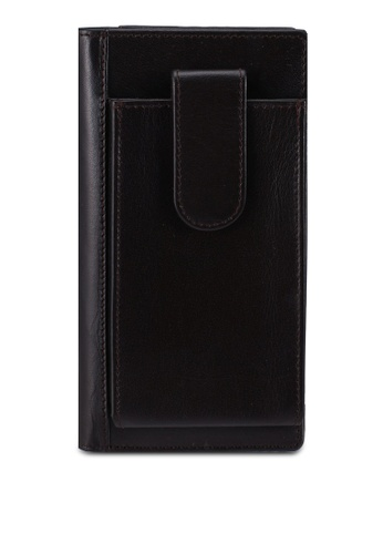 Miajee's black Compatible Business Notebook handcrafted leather - Black 0395AAC1F27C3FGS_1