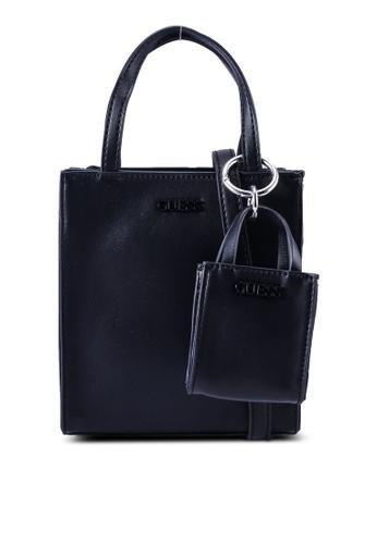 Guess black Picnic Mini Tote Bag 0B64DACEB1C394GS_1