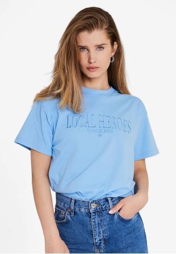 Local Heroes 藍色 LH 2013 藍色 T恤 7C0F2AA049A0B3GS_1