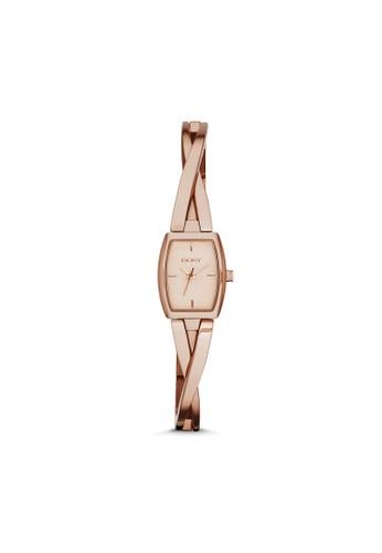 esprit門市地址Crosswalk流線鍊帶腕錶 NY2314, 錶類, 淑女錶