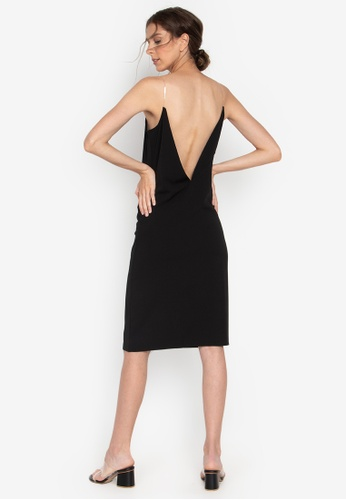 a9b7cbc476367 Shop the___edit Naomi Low Back Dress Online on ZALORA Philippines