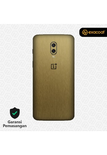 Exacoat OnePlus 6T 3M Skins Titanium Gold - Cut Only 37A11ES0AA46D6GS_1