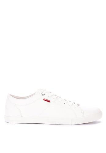 Levi's white Woods Sneakers 199B0SH9EFFD5FGS_1
