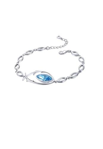ADORA blue Swarovski Aquamarine Bracelet 8FB4FAC3EF1704GS_1