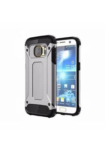 buy online 3f16c bb675 Tech Armor Tough Case for Samsung Galaxy S7 (Silver)