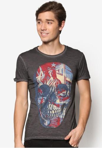 Cpd Con Stampa T-Shirt, esprit分店服飾, T恤