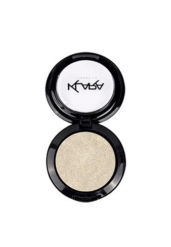 KLARA COSMETICS white Shimmer Eyeshadow #1 - Satin White 5AE75BE4C8D2FBGS_1
