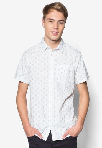 印花短袖襯衫, 服esprit hk飾, 服飾