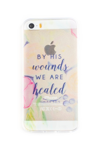 Fancy Cellphone Cases multi By his Wounds Soft Transparent Case for iPhone 5/5s FA644AC42PWBPH_1