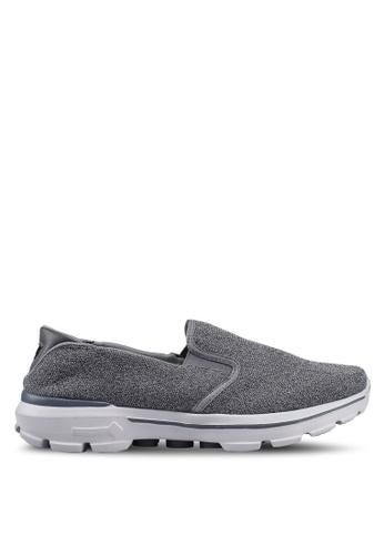 UniqTee 灰色 Lightweight Slip-On Sport Shoes Sneakers D8E32SHC360DFDGS_1