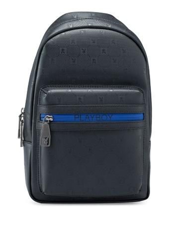 Playboy black Chest Bag 54E69AC0624915GS_1