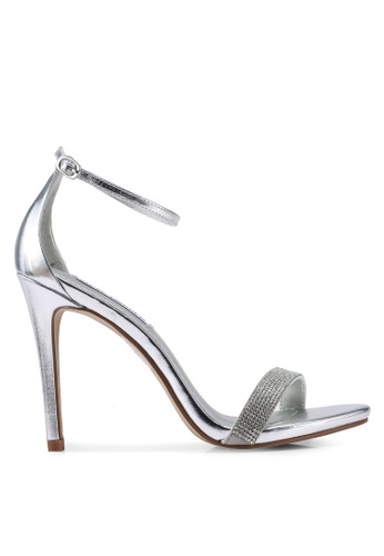 d26935e272a Stecy-S Open Toe Ankle Strap Stiletto Heels