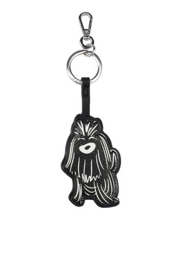ESPRIT black Printed Keychain ES374AC0T17SMY_1
