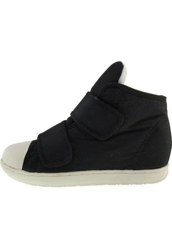 Maxstar 黑色 新款韩国鞋203H-2Band時尚帆布布混合女黑色 US Women Size MA345SH27GSETW_1