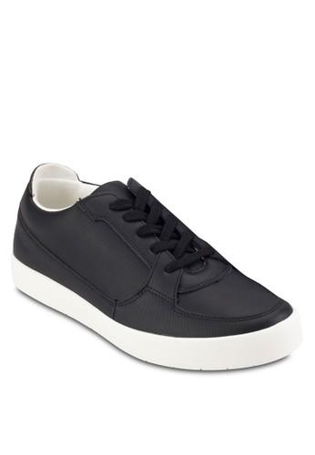 繫帶仿皮休閒鞋, zalora時尚購物網評價鞋, 鞋