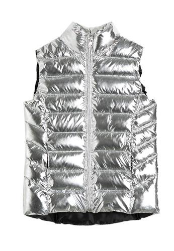 KOTON silver Puffer Vest EC849KA0A742EBGS_1