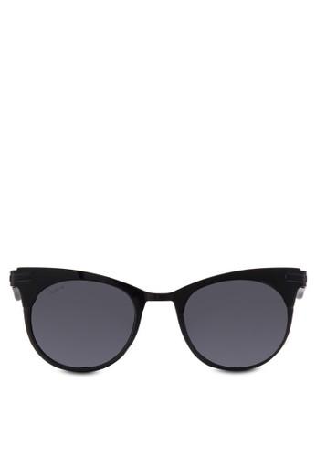 Weszalora 男鞋 評價t 拼接貓眼太陽眼鏡, 飾品配件, 貓眼框