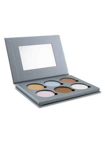 Bellapierre Cosmetics BELLAPIERRE COSMETICS - Glowing Palette 2 (6x Illuminator) 17.28g/0.6oz BEB37BE503C7C6GS_1