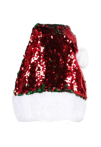Adkidz red Adkidz Reversible Sequins Christmas Hat 62FA4KC6BE1377GS_1