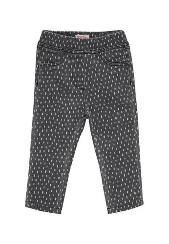 Du Pareil Au Même (DPAM) grey Print Denim Jeans 784D3KA56AD59CGS_1