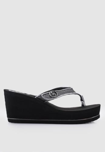 Guess 灰色 拖鞋楔型鞋 DE46ASHD1B616CGS_1