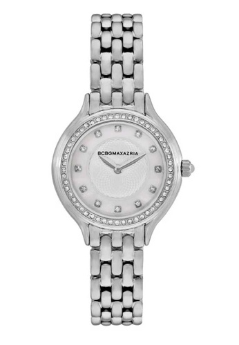BCBG silver BCBGMAXAZRIA BG50999001 Silver and Stainless Steel Watch 79666ACA4B02B2GS_1