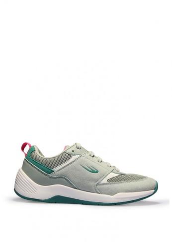 World Balance green Harbinger Women's Athleisure Shoes 010FDSHEAA33E9GS_1