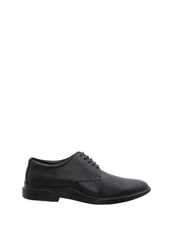 SEMBONIA black SEMBONIA Men Microfiber Business Shoe (Black) 5772FSH2D25BC7GS_1