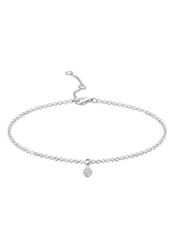 ELLI GERMANY white Bracelet Crystals Ball BA91BAC7BDBB57GS_1
