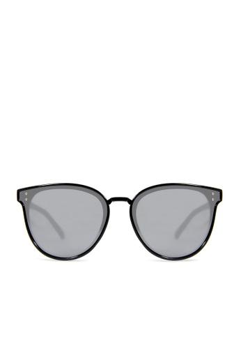 ASLLY black and multi Space Adventure│Black Cat-Eye Sunglasses 58188GL03521E2GS_1
