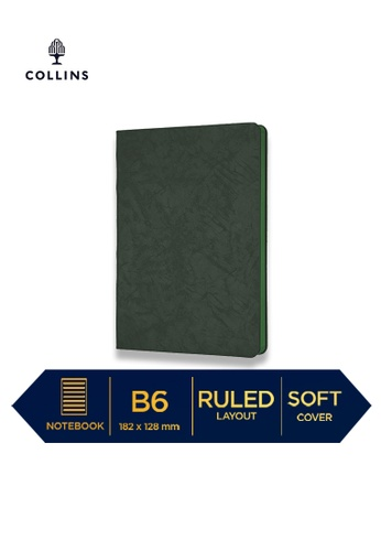 Collins green Collins Nova   ─  Notebook B6 Ruled Green 075E4HLAB8952FGS_1