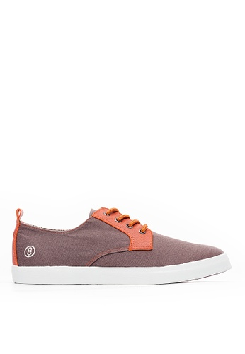 Life8 grey Casual Leather Shoes-09836-Grey 44A00SH13B81C2GS_1