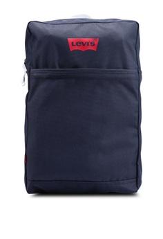 21ace5bd3e3 Levi's blue Slim Levi's L Backpack EC115AC7F4C838GS_1